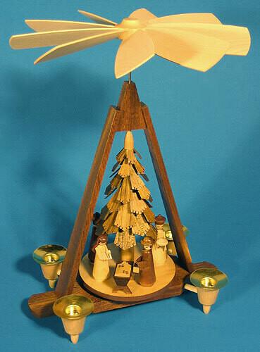Chip Tree Nativity Pyramid