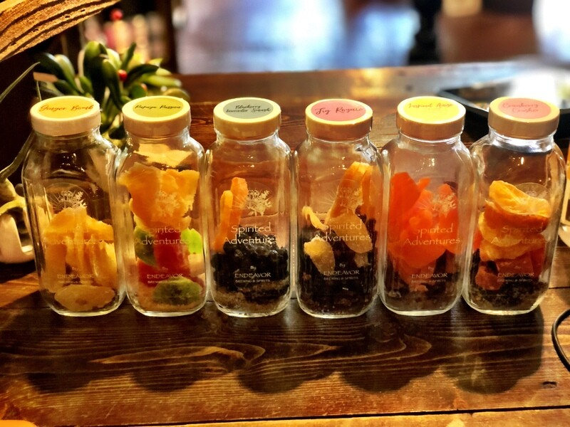 Spirit Infusion Jars
