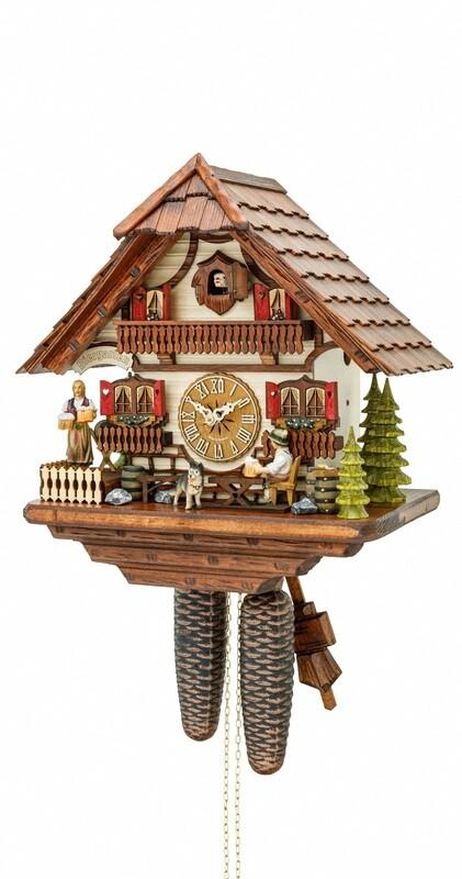 8-Day Bier Garten Cuckoo Clock