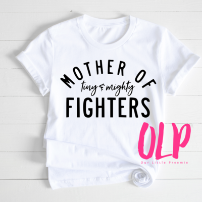 Mother of tiny & mighty fighters