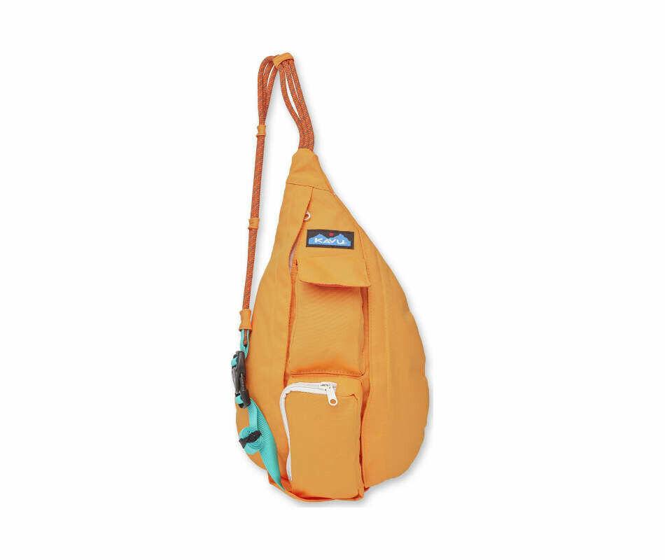 KAVU Mini Rope Bag ATOMIC ORANGE