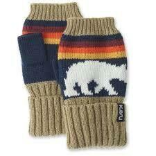 KAVU Accessory: Montana Gloves SNOW BEAR