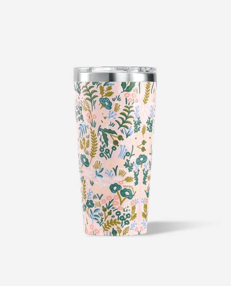 Corkcicle 16oz Tumbler GLOSS PINK TAPESTRY