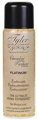 Tyler Candle Co. Room Parfum PLATINUM 4 oz.