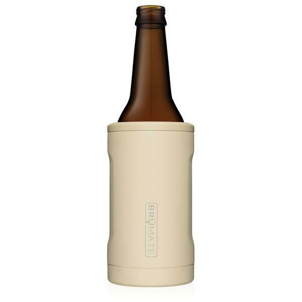 BruMate Hopsulator Insulated Bottle Cooler DESERT TAN