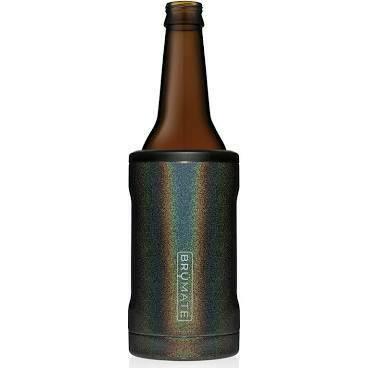 BruMate Hopsulator Insulated Bottle Cooler GLITTER CHARCOAL