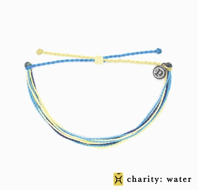 Pura Vida Charity Bracelet WATER