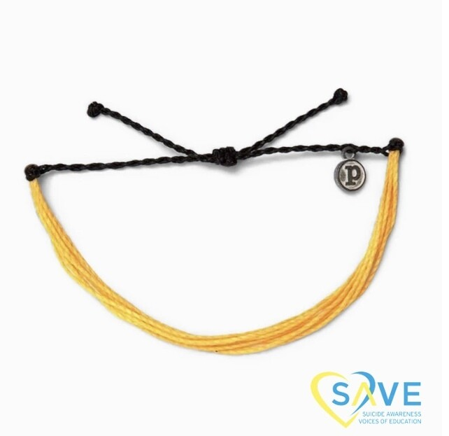 Pura Vida Suicide Prevention Bracelet