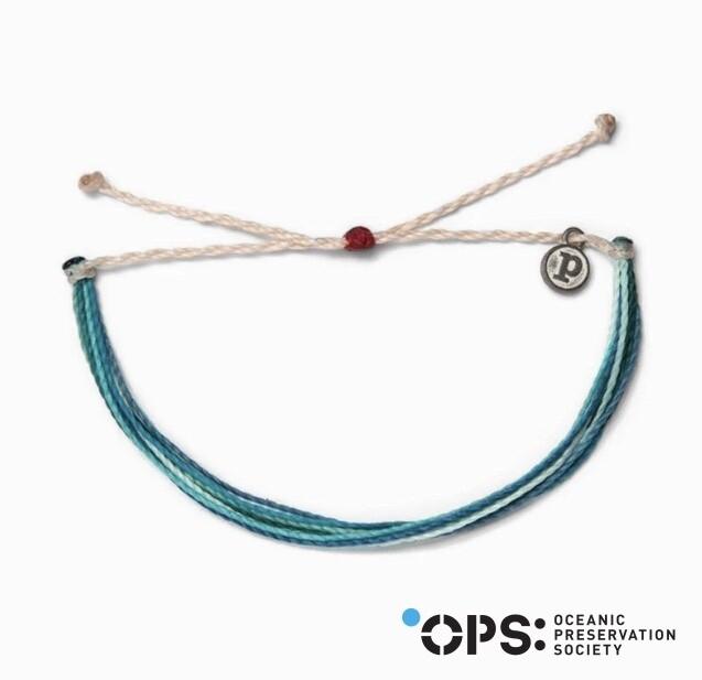 Pura Vida Save the Dolphins Bracelet