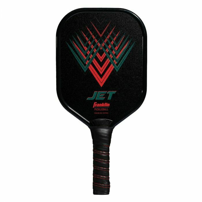 Franklin Sports Jet Aluminum Pickle Ball Paddle RED
