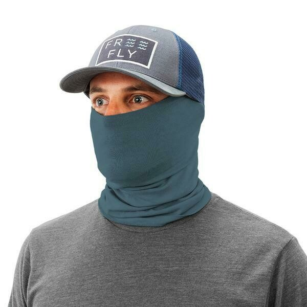 Free Fly Bamboo Midweight Fun Mask BLUE DUSK