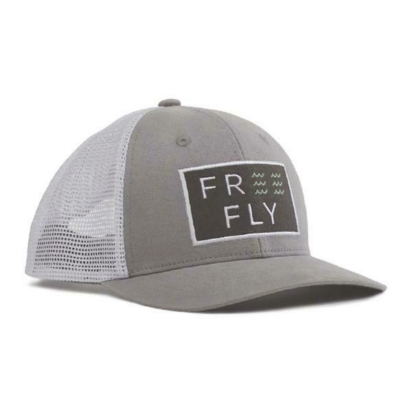Free Fly Wave Snapback Trucker Hat CEMENT