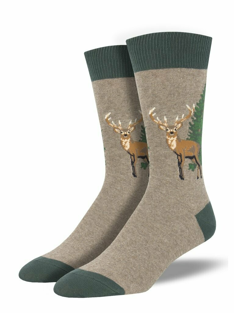 Socksmith M Going Stag BROWN HEATHER