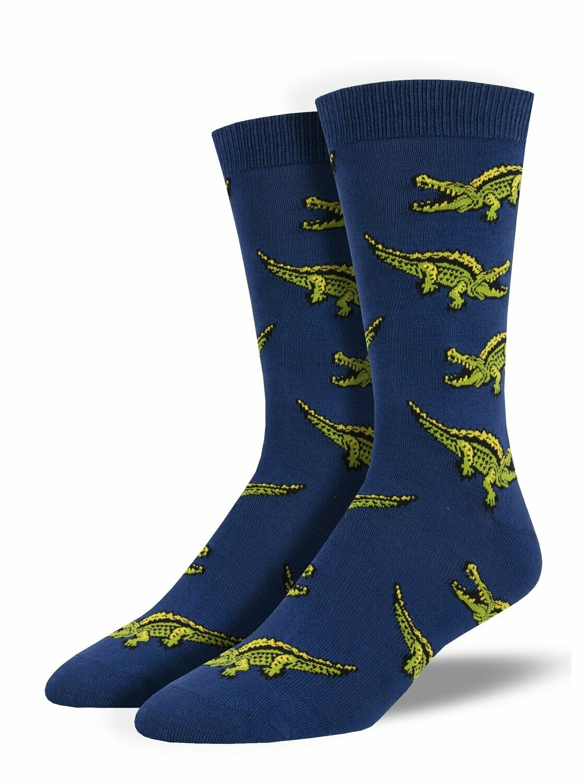 Sock Smith M Gator BLUE