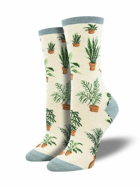 Socksmith W Home Grown IVORY HEATHER