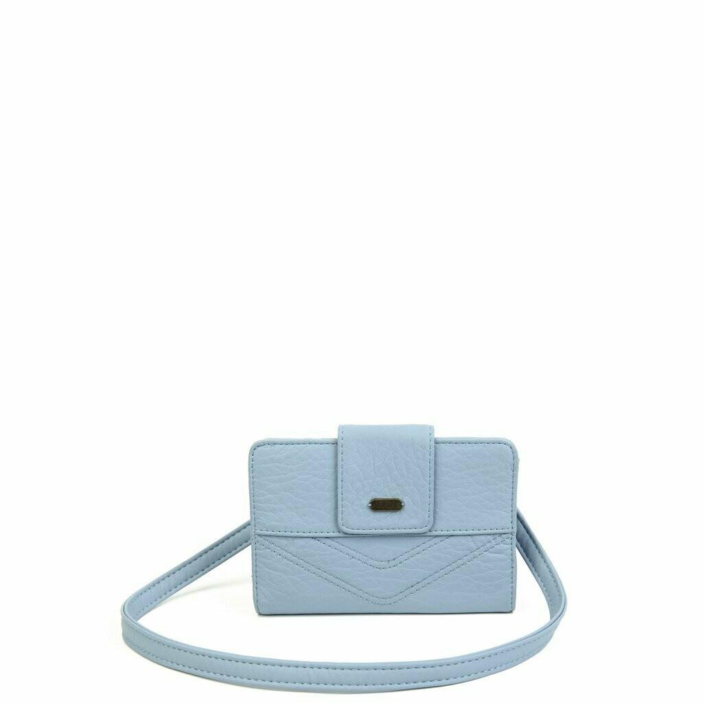 Ampere Sophia Wallet Crossbody: BABY BLUE