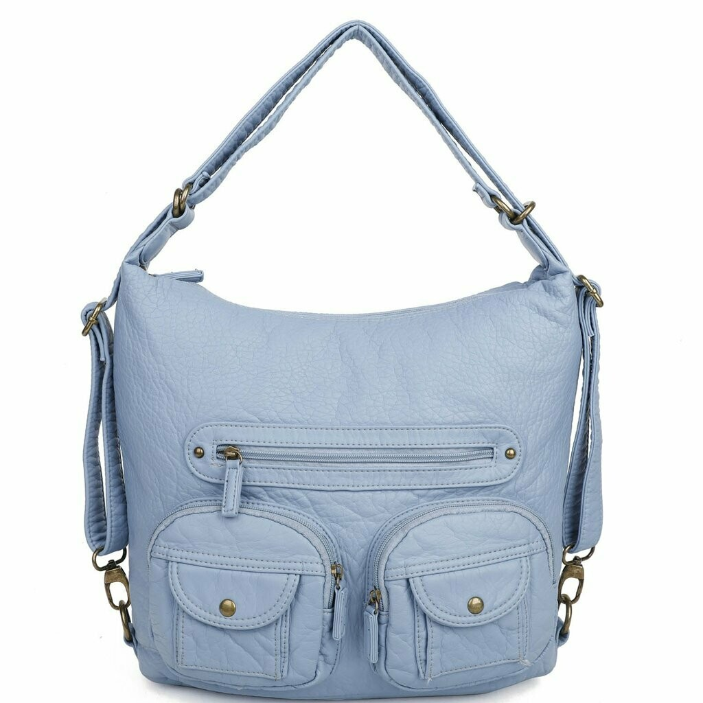 Ampere Mini Convertible Backpack: BABY BLUE