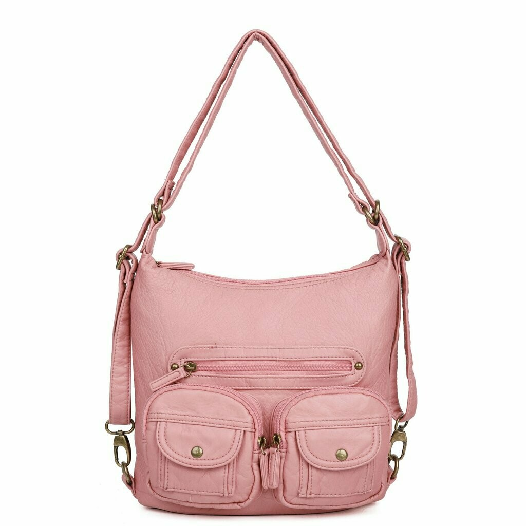 Ampere Mini Convertible Backpack: ROSE PINK