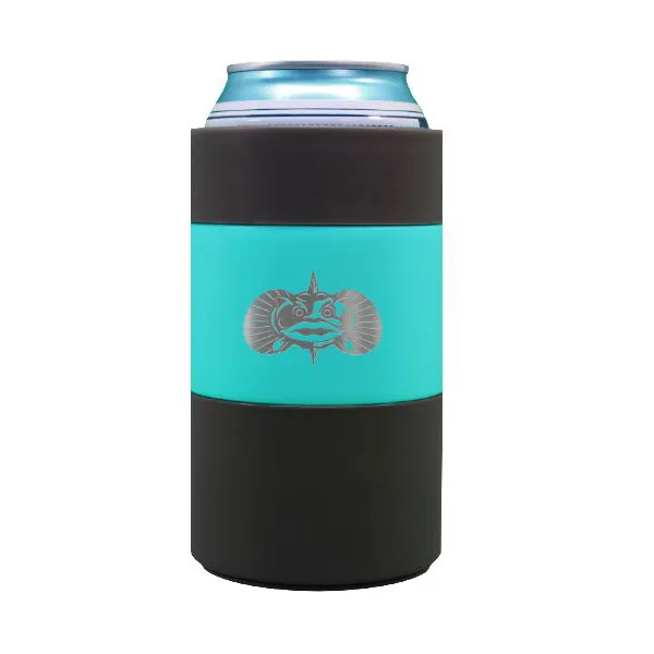 Toadfish Non-tipping Can Cooler TEAL