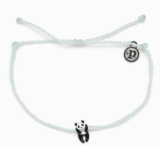 Pura Vida Panda Charm Bracelet