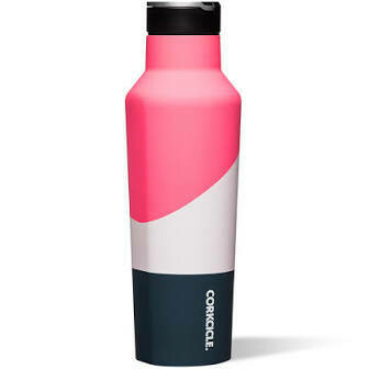 Corkcicle 20oz Sport Canteen ELECTRIC PINK