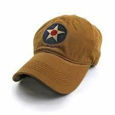 S.L. Revival Co. U.S. Army Corps Insignia Ballcap BRITTISH KHAKI