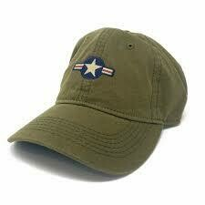 S.L. Revival Co. U.S. Air Force Insignia Ballcap OLIVE