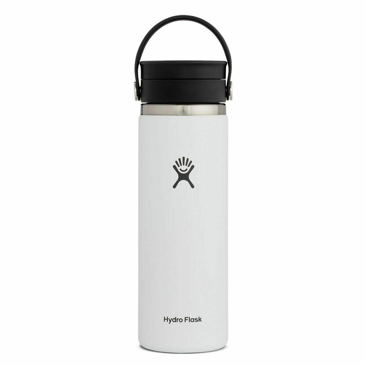 Hydro Flask 20 oz Wide Mouth w/Flex Sip Lid WHITE