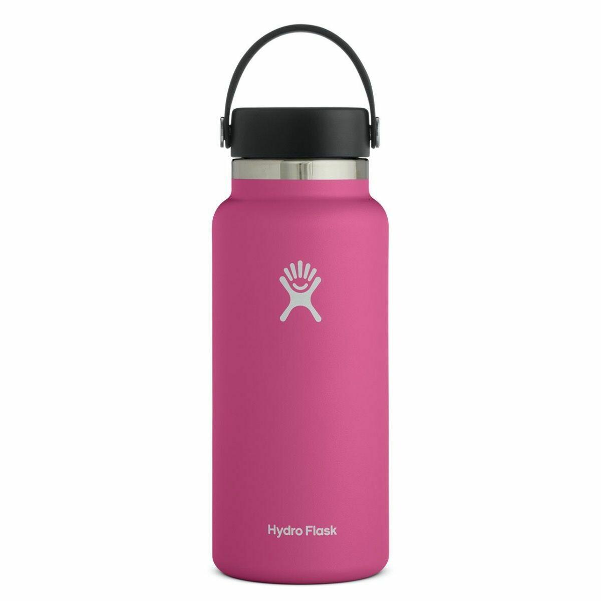 Hydro Flask 32 oz Wide Mouth w/Flex Cap CARNATION