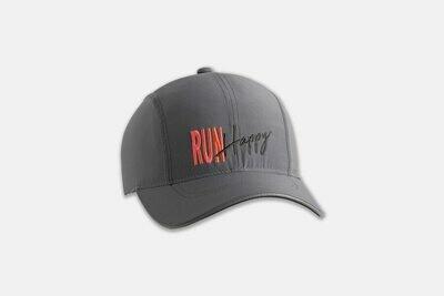Brooks Chaser Hat STEEL/RUN HAPPY