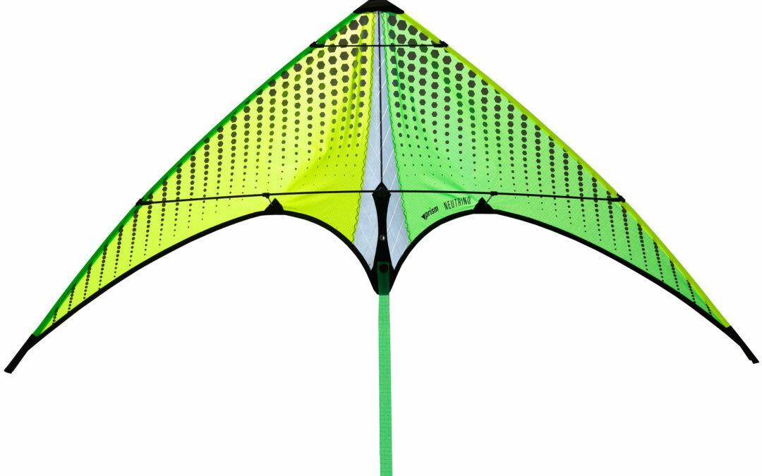 Prism Kites Neutrino Micro Sport 2 Line Stunt Kite CITRON