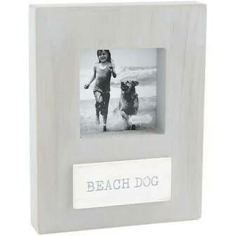 Mud Pie Beach Dog Frame