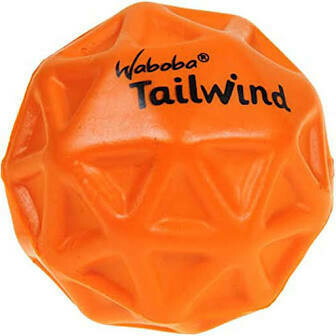 Waboba Tailwind Ball for Dogs ORANGE