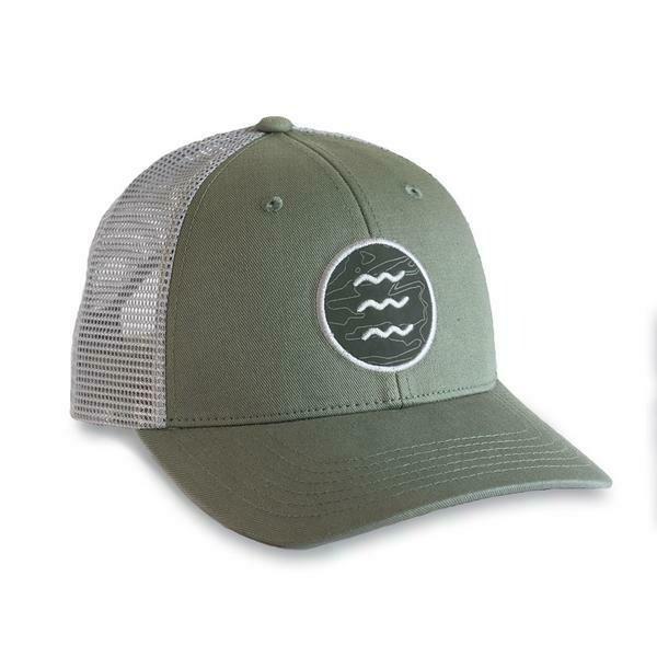 Free Fly Topo Icon Snapback Trucker Hat CEDAR