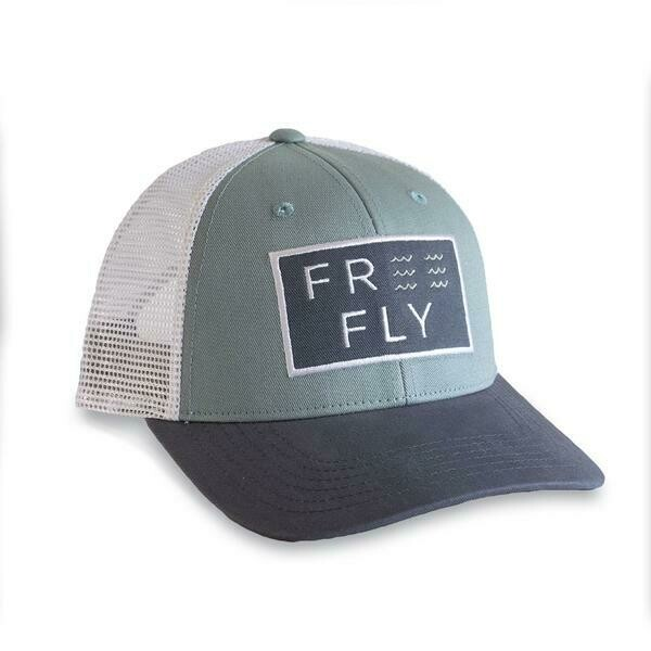 Free Fly Wave SnapBack Trucker Hat REEF TRI-COLOR