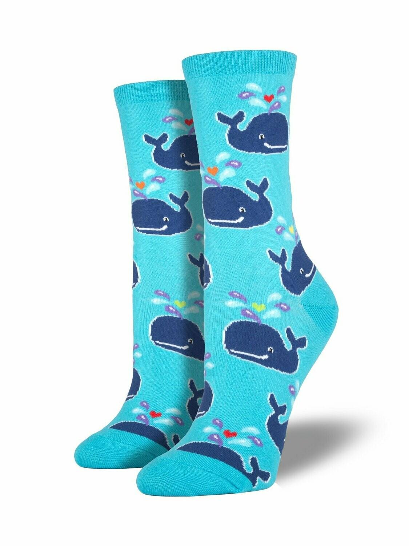 Socksmith W Whale BERMUDA BLUE