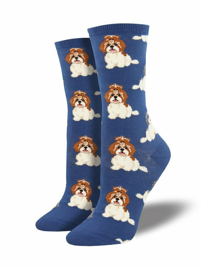 Socksmith W I Shih Tzu Not BLUE