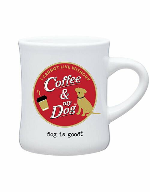 Dog is Good Mug: Coffee & My Dog WHITE