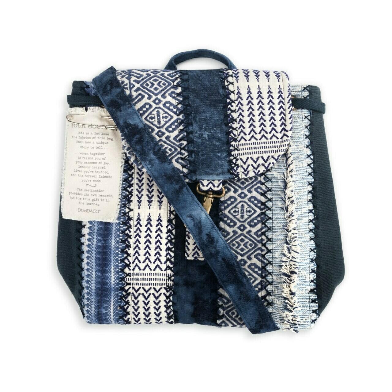 Demdaco Your Journey Backpack INDIGO