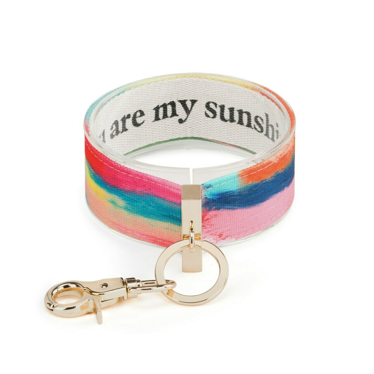 Demdaco Wrist Strap Key Ring YOU ARE MY SUNSHINE