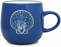 Cape Shore Batik Mug SCALLOP