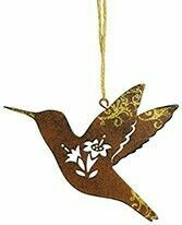 Cape Shore Christmas Ornament: Metal HUMMINGBIRD