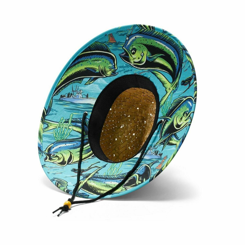 Hemlock Hat Co Dorado TEAL/GREEN