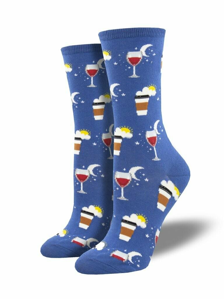 Socksmith W All In A Days Work BLUE