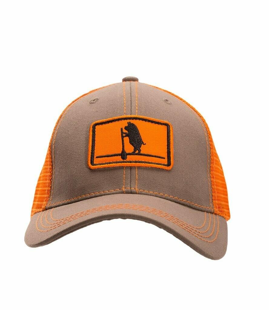 Southern Hooker Paddle Board Pig Trucker Hat GREY