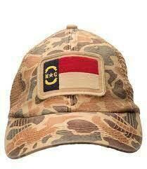 Southern Hooker NC Flag Classic Trucker Hat CAMO