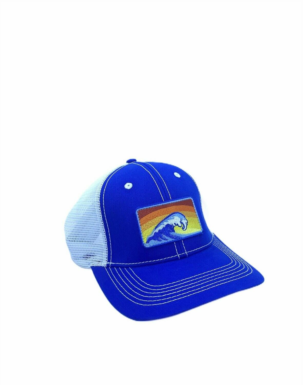 Southern Hooker Wave Trucker Hat ROYAL