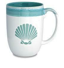 Cape Shore Dipped Coffee Mug SHELLS
