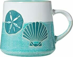 Cape Shore Artisan Coffee Mug SHELLS