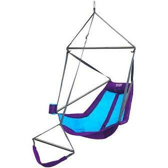 ENO Lounger Hanging Chair TEAL/PURPLE